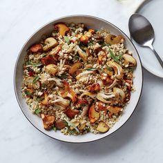 This best-ever mushroom-barley salad gets flavor from fresh sage and lemon juice. Get the recipe at Food & Wine.