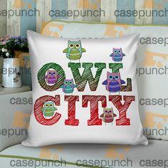 53bb7190b65 Sr6-owl City Music Group Logo Cushion Pillow Case Cushion Pillow, Pillow  Cases,