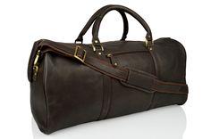 Genuine Baggage - Woodland Leather Holdall Bag in Brown, $415.00 (http://www.genuinebaggage.com.au/woodland-leather-holdall-bag-in-brown/)