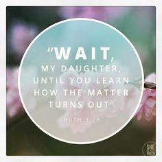 Ruth 3:18