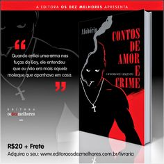 Livros e Cores: Novidade - Resenha: Contos de Amor e Crime.