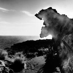 """Mimmo Jodice - Vulcano dalla serie Isolario Mediterraneo, 1990 - Mart, Collezione Anna Rosa e Giovanni Cotroneo - """"La Magnifica Ossessione"""" www.mart.tn.it/magnificaossessione"""