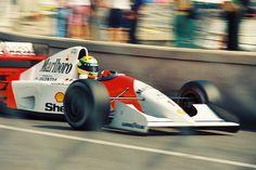 Ayrton Senna  Monte Carlo, 1992
