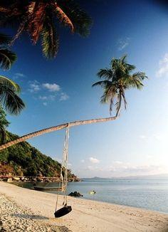 Happiness. Leela Beach - Kho Phangan.