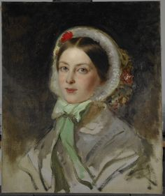 """""""Victoria, Princess Royal (1840-1901)"""", Charles-Lucien-Louis Muller, 1856; Royal Collection Trust 404885"""