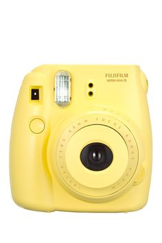 Yellow Instax Mini 8 Camera