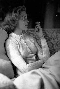 Lauren Bacall by Milton Greene