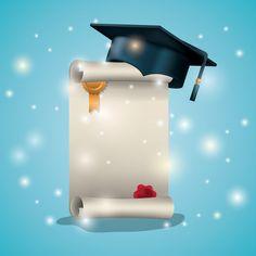 Graduation Album, Graduation Images, Graduation Scrapbook, Alphabet Wallpaper, Framed Wallpaper, Cute Wallpaper Backgrounds, Certificate Of Recognition Template, Graduation Wallpaper, Boarder Designs