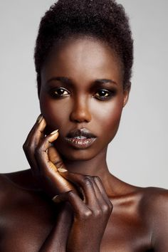 Sudanese Model, Tina J. Malou, was born in Sudan but moved to Kenya at a young age due to the war. In 2000, her family relocated to New Zealand, which was where her modelling journey began. In 2006, Tina won New Zealand's 'Miss Africa 2006' and was then signed with62 Models.  Tina has since graced the cover of Pulp magazine and has been the co-face for New Zealand fashion designerKaren Walker'seyewear campaign. Now with theL'Oreal Melbourne Fashion Festival, I don't