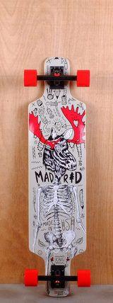 "Madrid 41"" Moose Longboard Bottom"