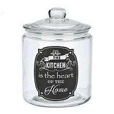 Heart Of The Home Glass Canister