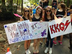 Roll with the Best #KappaKappaGamma #KKG #Kappa #BidDay #sorority #Emory
