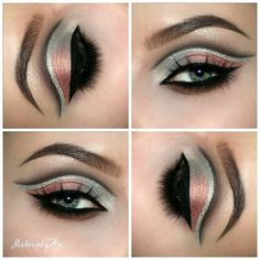"""Todays look made with the Tamanna eyepalette by @dressyourface  Eyebrows by @anastasiabeverlyhills dipbrow and brow wiz in medium brown. Eyeliner also by @anastasiabeverlyhills waterproof crème collr in """" Jet """"  Lashes by @lovelashesbyjoanna """" Classy Chloe """" and """"Joyfull Jojo """" as my bottom lashes ."""