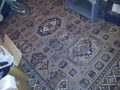 £35 North London 314x215cm beige rug  Picture 1