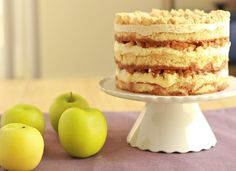 Apple pie layer cake! >> that all sounds great to me and it is so pretty!