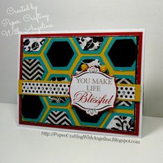 Paper Crafting with Angelina: Creatively Redeeming Treasures Team Blog Hop June 2013