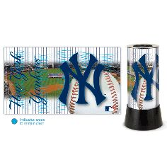 $49.99  Yankees Rotating Lamp  MLB professional sports merchandise