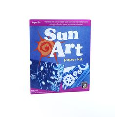SunArt Paper Kit - Little Passports Sun Paper, Subscriptions For Kids, Little Passports, Sun Prints, Curious Kids, Sun Art, Science Kits, Painted Leaves, Gifts For Nature Lovers