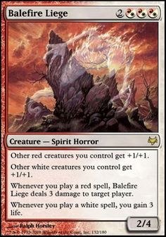 Balefire Liege ($7.77) Price History from major stores - Eventide - MTGPrice.com Values for Ebay, Amazon and hobby stores!