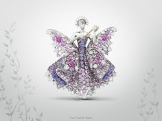 The Maison has been inspired by the poetry of fairy tales ever since its foundation. In the 1940s, this poetry found a graceful expression in its fairy- and ballerina clips.   Today Van Cleef & Arpels celebrates the enchanting fairy tale Peau d'Âne with another bejeweled narration at the Biennale des Antiquaires in Paris – on view until September 21st #BiennaledesAntiquaires #VCApeaudane http://goo.gl/Mf1om0