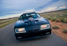 Ford falcon XB interceptor V8 mad max