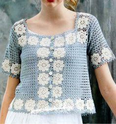 Crochet Patterns: Crochet Sweater Pattern For Women - Gorgeous