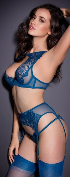 my lingerie #provestra ~ Intense Blue ~ So, sensual ~