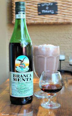 Boozy Mint Chocolate Milkshake~ Thyme for Cocktails