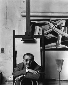 Man Ray, 1948.   Photo by Arnold Newman