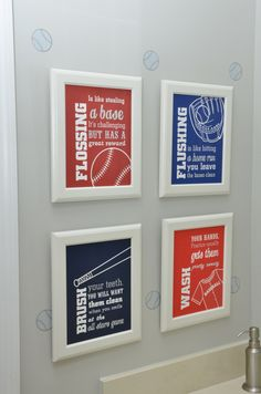 Baseball Themed Bedroom Decor