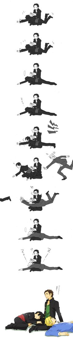 Lol okay I know this isn't exactly Shizaya but this is too cute not to post xD