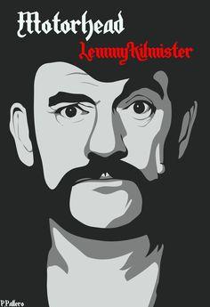 Lemmy Kilmister by MrZ0mbie.deviantart.com on @deviantART. Yes to Motörhead