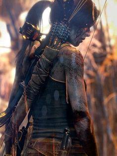Tomb Raider lara croft art,so amazing - Gamer House Ideas 2019 - 2020 Tom Raider, Tomb Raider 2013, Tomb Raider Game, Tomb Raider Cosplay, Tomb Raider Lara Croft, Mononoke Cosplay, Rauch Fotografie, Lara Croft Cosplay, Laura Croft