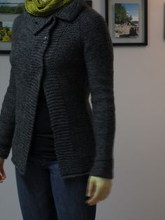 Ravelry: tammykins' Fallow Fields Cardigan with cascade 220 and Drops alpaca