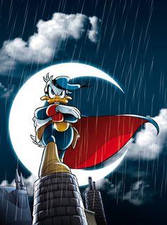 Paperinik, or 'Duck Avenger', Donald's heroic alter-ego.