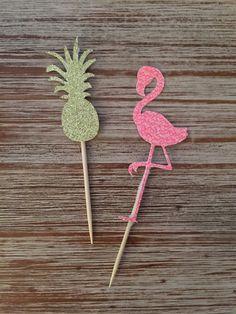 Barato De brilho e Flamingo festa de noivado casamento nupcial tropical de coco do Cupcake food picks, Compro Qualidade Decoração de festa diretamente de fornecedores da China: Pls dizem-nos as cores do coco você quer na nota vendedor quando a encomenda. Se após 24horas de encomendar, você ain
