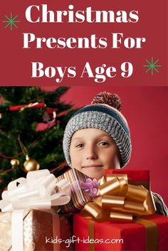 Helpful list of Christmas Presents for Boys Age 9.  Top toy presents, electronic presents, hands on building and crafting presents for 9 year old boys.