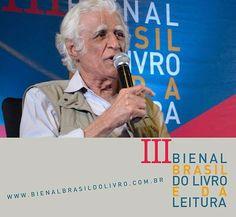 """Ziraldo fala sobre o livro """"Como ler para crianças"""" neste domingo (23), às 17 horas, no Auditório Nelson Rodrigues. Haverá sessão de autógrafos após a apresentação. #bienalbrasildolivro #ziraldo #brasilia #brasil #livroinfantil."""