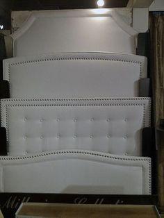 Upholstered headboard shapes