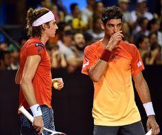 Blog Esportivo do Suíço:  Bellucci e Demoliner perdem para campeão olímpico e dá adeus no US Open