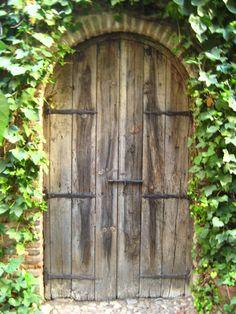 puerta del jardn casa de lope de vega madrid