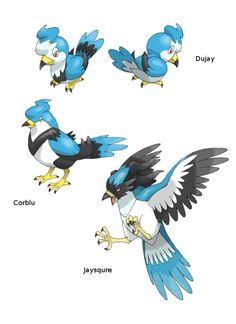 Dujay —> Corblu —> Jaysqure Normal / Flying Source. Artist: KurokiKumo