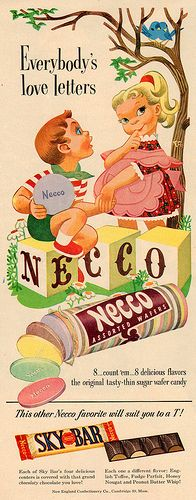 necco_assorted_wafers_ad_1951 | by it's better than bad