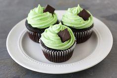 Cupcake choco-menthe