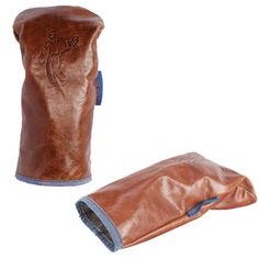 Ashworth Leather Driver Headcovers #golfballsunlimited.com