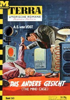 Terra SF 265 Das andere Gesicht   THE MIND CAGE Alfred Elton van Vogt  Titelbild 1. Auflage:  Johnny Bruck