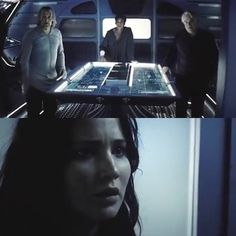 Finnick's face in this killed me! Its like he knew the pain Katniss was gonna feel once she found out.