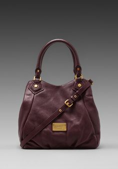 MARC BY MARC JACOBS Classic Q Fran Shoulder Bag in Cardamom Brown -