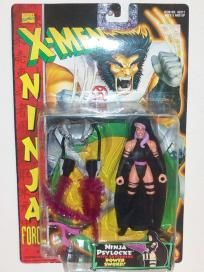 "1996 Marvel Comics X-Men Ninja Force 5"" Action Figure- Ninja Psylocke (Free Shipping) $12.99"
