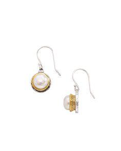 Simple Pearl Earrings, Earrings - Silpada Designs